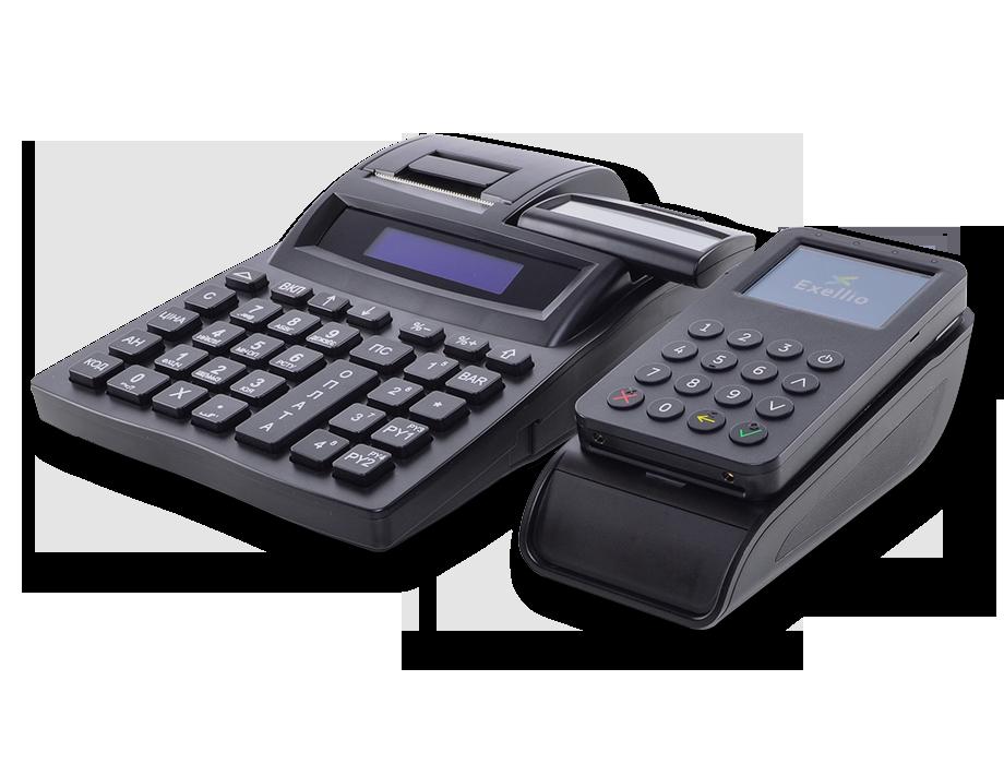 ComboPay BluePad-55  с РРО Экселлио